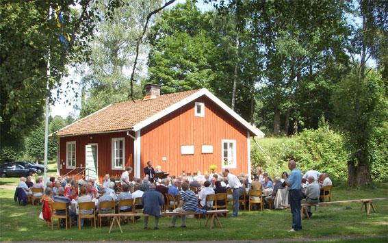 Hembygdsstugan i Åryd